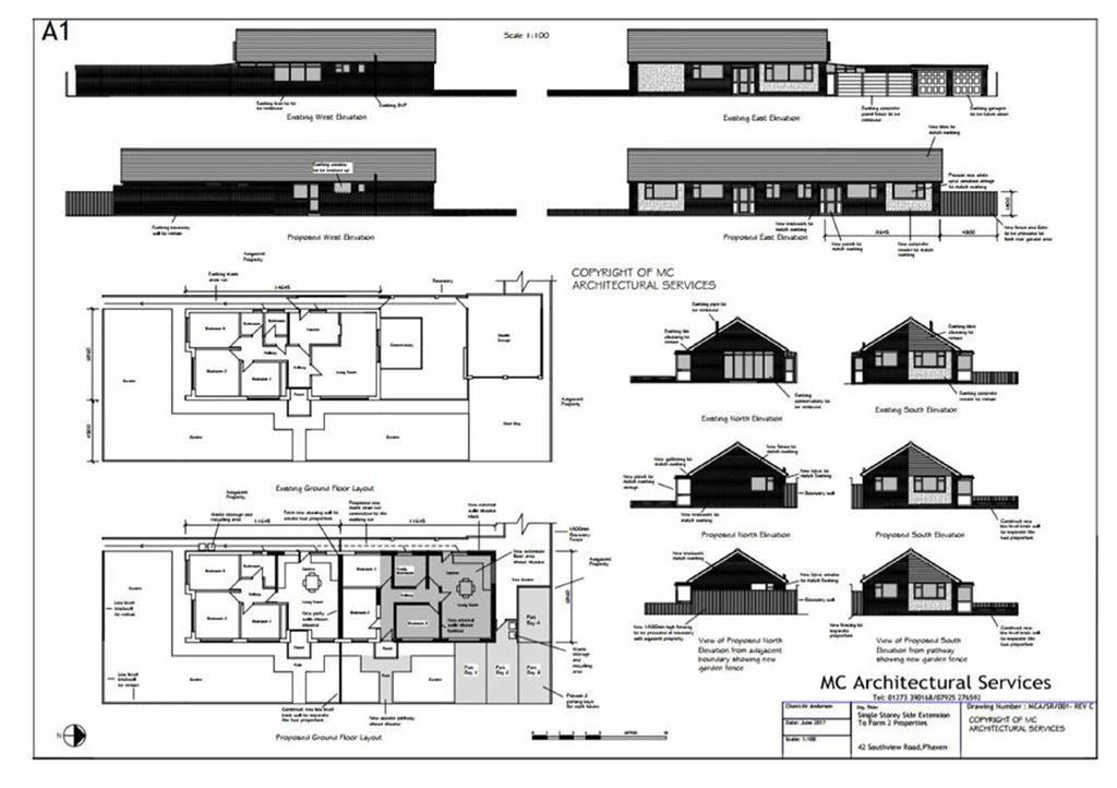 4 Bedrooms Detached Bungalow for sale in Southview Road, Peacehaven