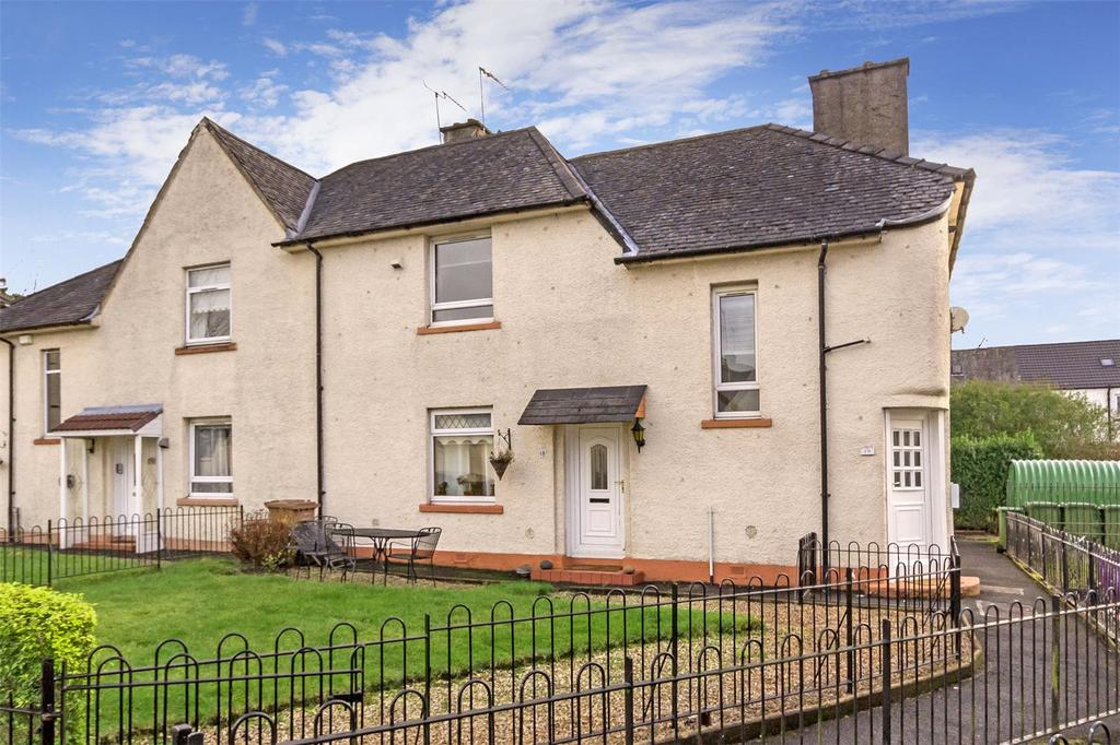 2 Bedrooms House for sale in 19 Dalsetter Place, Drumchapel, Glasgow, G15