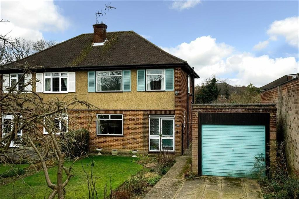 3 Bedrooms Semi Detached House for sale in Meadow Close, St Albans, Hertfordshire
