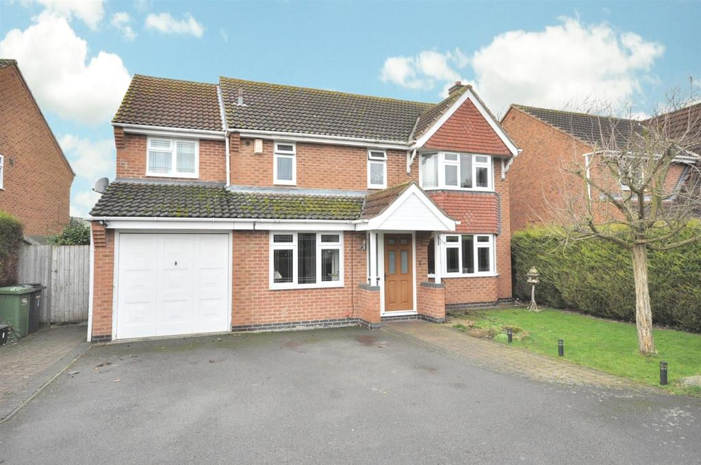 4 Bedrooms Detached House for sale in Ash Grove, Bottesford, Nottingham
