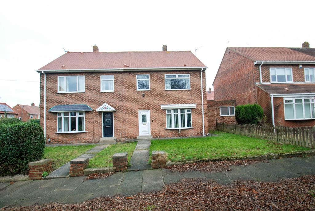 3 Bedrooms Semi Detached House for sale in Greenside, South Shields