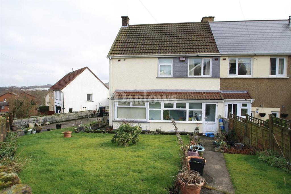 3 Bedrooms Semi Detached House for sale in Waen Fawr, Nantyglo, Brynmawr, Gwent