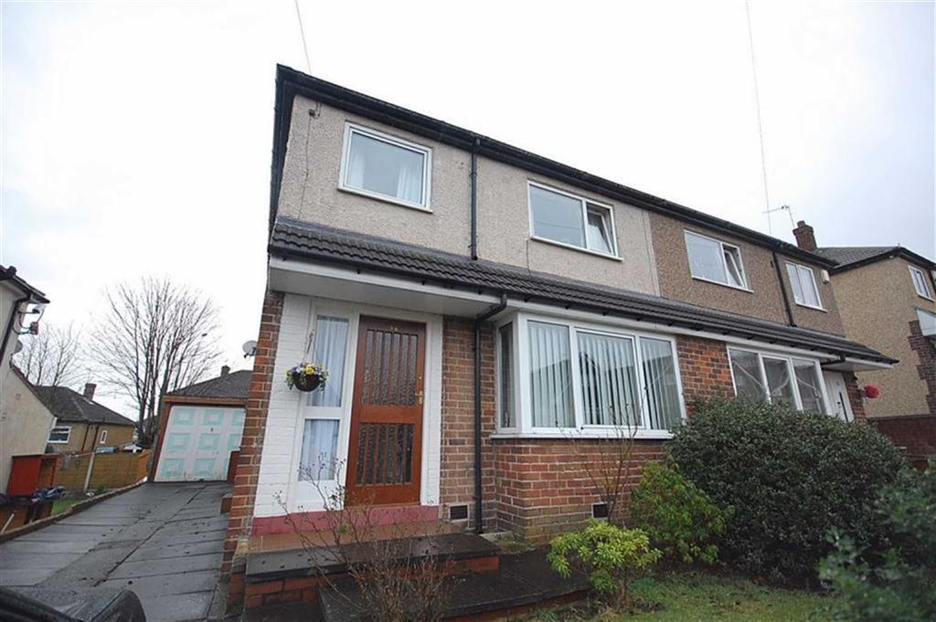 3 Bedrooms Semi Detached House for sale in Warrenside, Deighton, Huddersfield, HD2