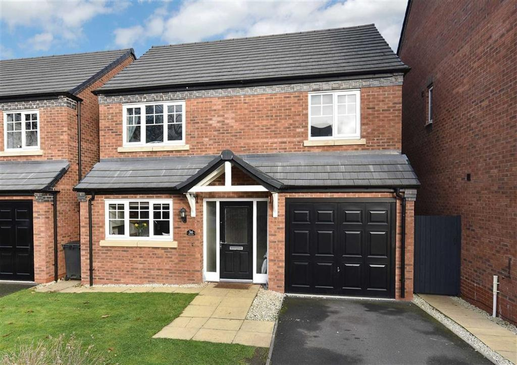 4 Bedrooms Detached House for sale in 36 Kings Court, Stourbridge Road, Low Town, Bridgnorth, Shropshire, WV15