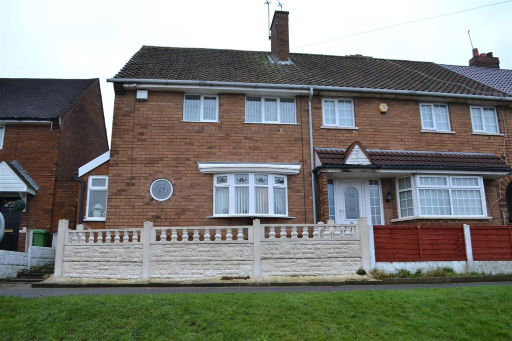 2 Bedrooms End Of Terrace House for sale in Remington Road, Walsall