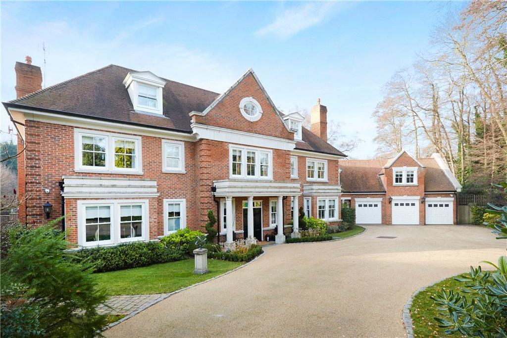 6 Bedrooms Detached House for sale in Moles Hill, Oxshott, Leatherhead, Surrey, KT22