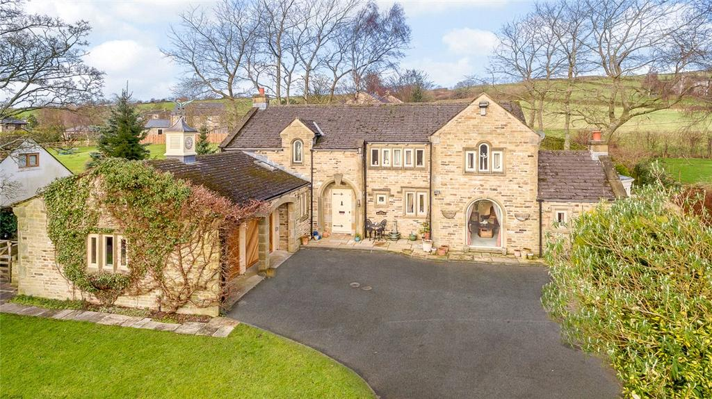 4 Bedrooms Detached House for sale in High Bank Cottage, Bradley, Near Skipton, North Yorkshire, BD20