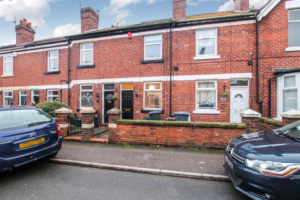 2 Bedrooms Terraced House for sale in Dimsdale View East, Porthill, Newcastle, Staffs