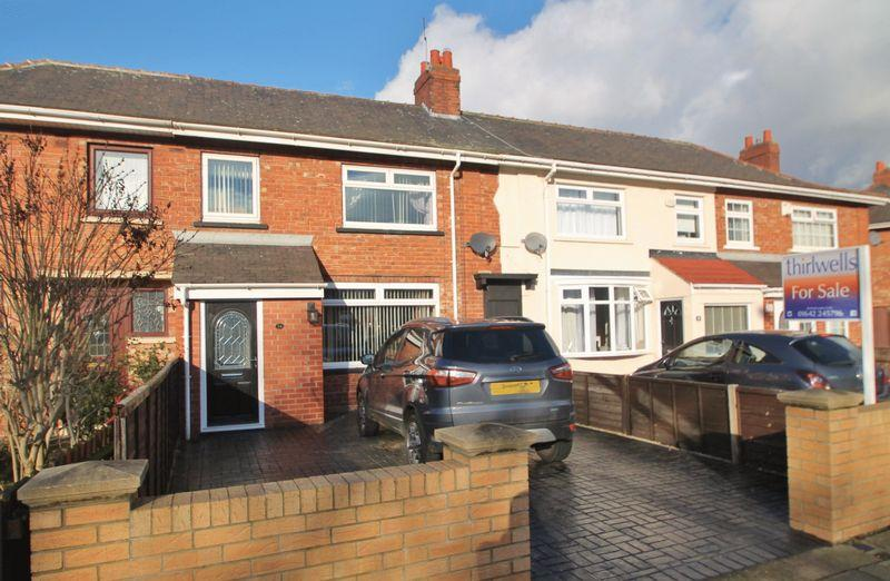3 Bedrooms Terraced House for sale in Levick Crescent, Acklam