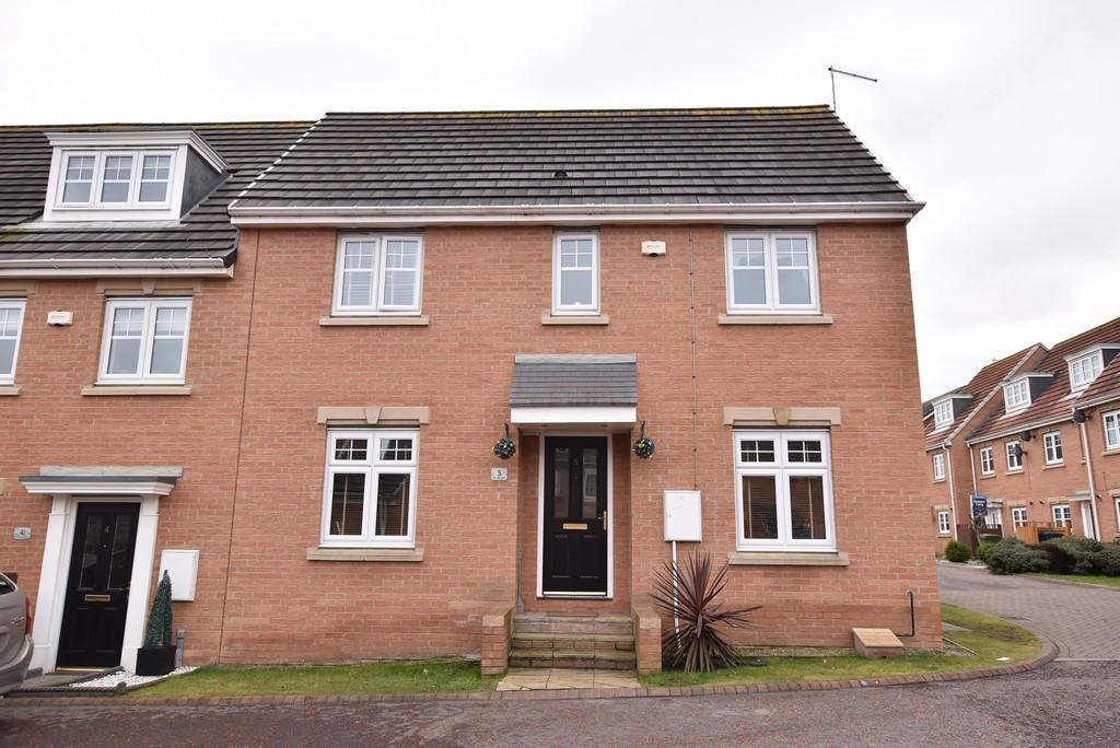 3 Bedrooms End Of Terrace House for sale in Burnside Close, Boldon Colliery