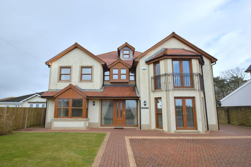 4 Bedrooms Detached House for sale in Ty Brithweunydd, 163 West Road, Nottage, Porthcawl, Bridgend County Borough, CF36 3RT.