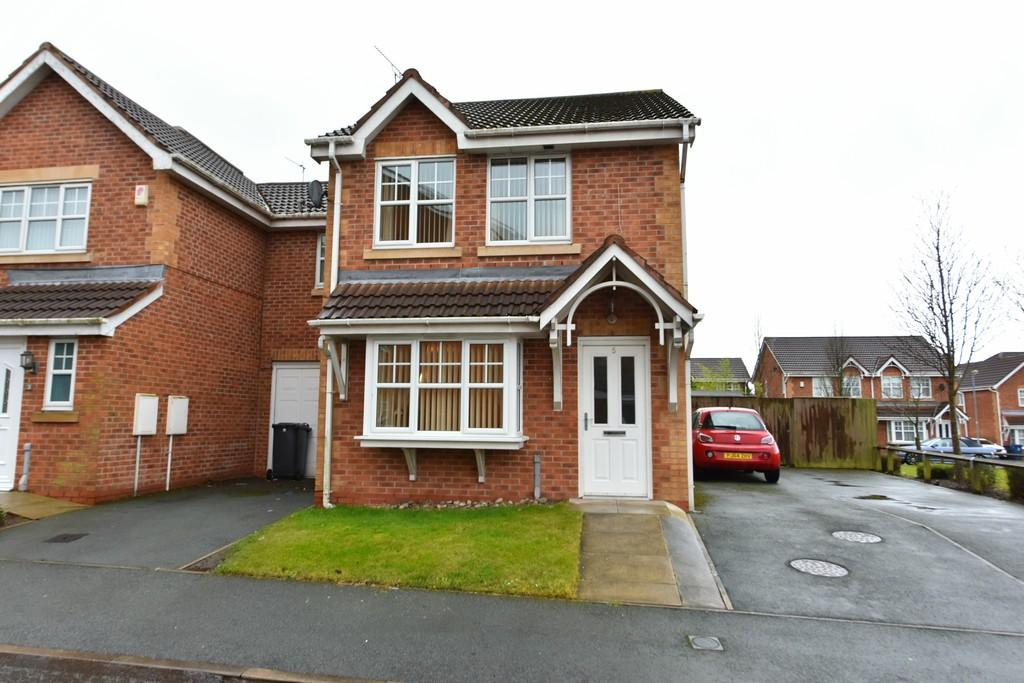 3 Bedrooms End Of Terrace House for sale in West Park Close, Old Skelmersdale