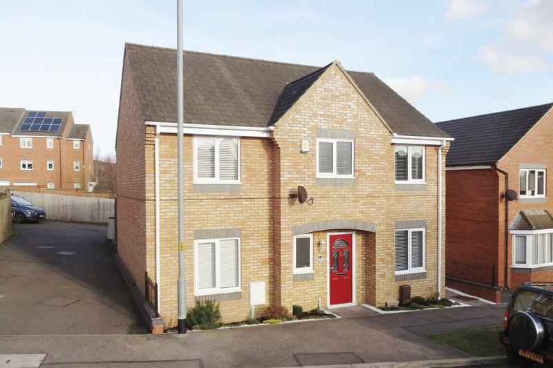 4 Bedrooms Detached House for sale in Chepstow Road, Oakley Vale, Corby