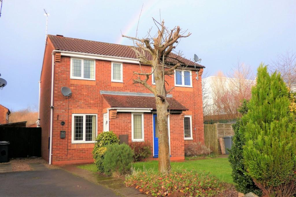 2 Bedrooms Semi Detached House for sale in Sherbourne Drive, Branston