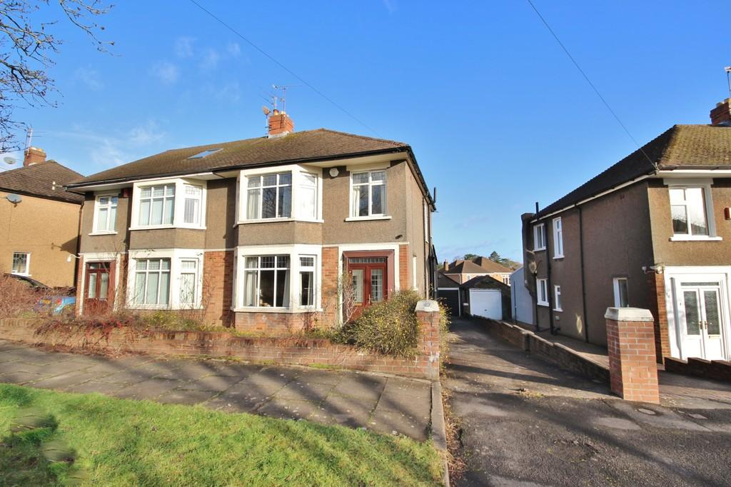 3 Bedrooms Semi Detached House for sale in Beatty Avenue, Roath Park , Cardiff