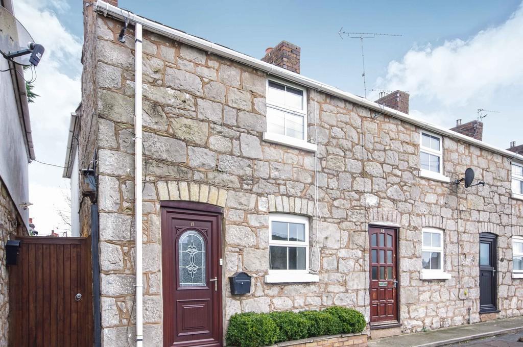2 Bedrooms End Of Terrace House for sale in Castle Street, Rhuddlan