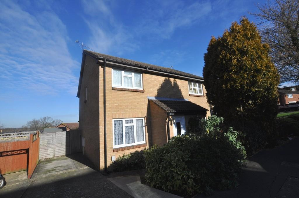 2 Bedrooms Semi Detached House for sale in Ashbury Crescent, Merrow Park