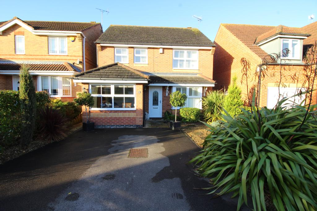 3 Bedrooms Detached House for sale in Angelica Court, Bingham, Nottinghamshire NG13