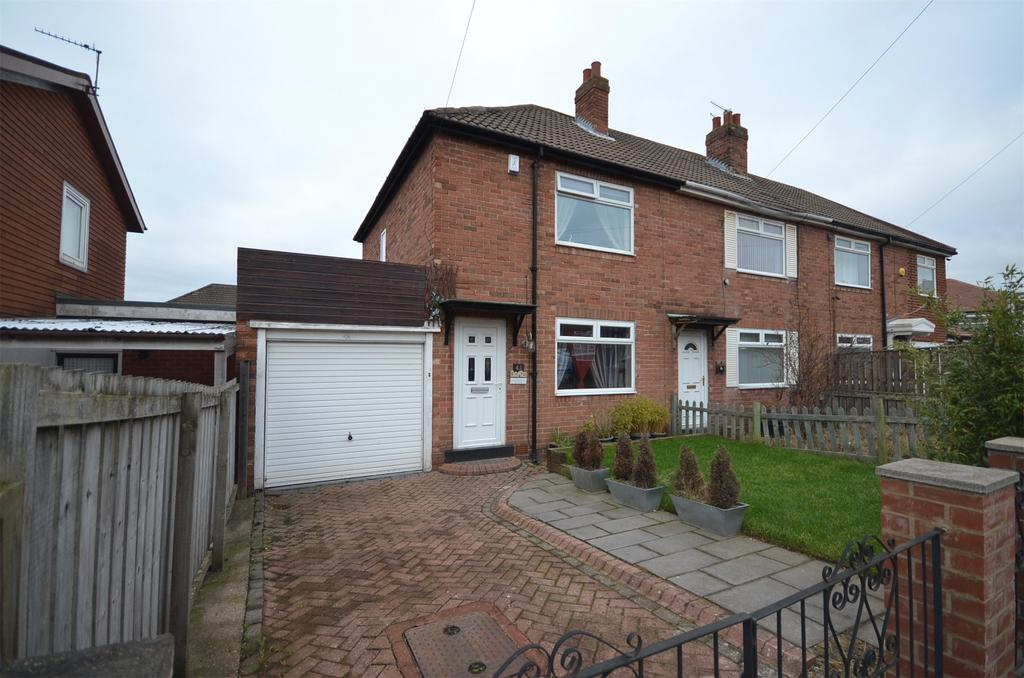 2 Bedrooms Semi Detached House for sale in Fenham