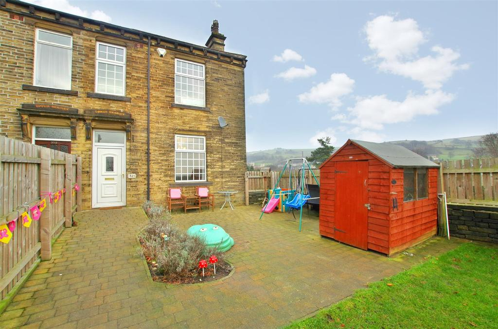 3 Bedrooms End Of Terrace House for sale in Huddersfield Road, Halifax
