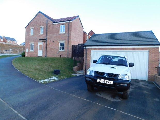 4 Bedrooms Detached House for sale in DRUMMOND WAY, SHILDON, BISHOP AUCKLAND