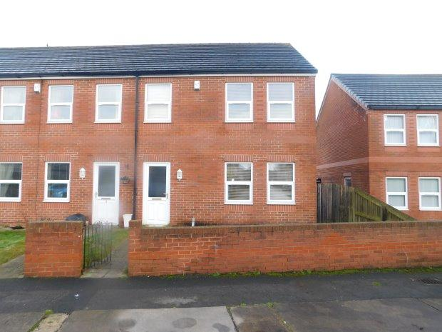 3 Bedrooms Semi Detached House for sale in BRANCEPETH PLACE, SHILDON, BISHOP AUCKLAND