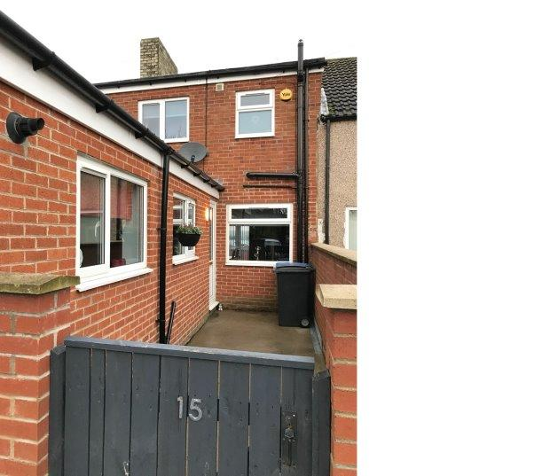3 Bedrooms Terraced House for sale in BUSTY TERRACE, SHILDON, BISHOP AUCKLAND