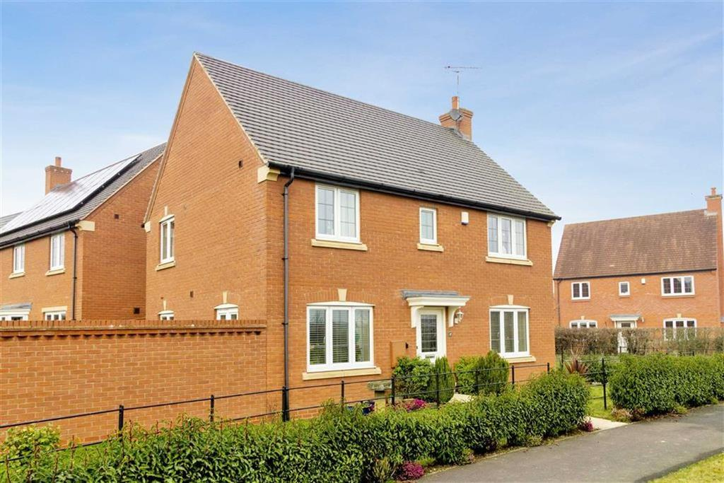 4 Bedrooms Detached House for sale in Peter Laslett Close, Loughborough, LE11