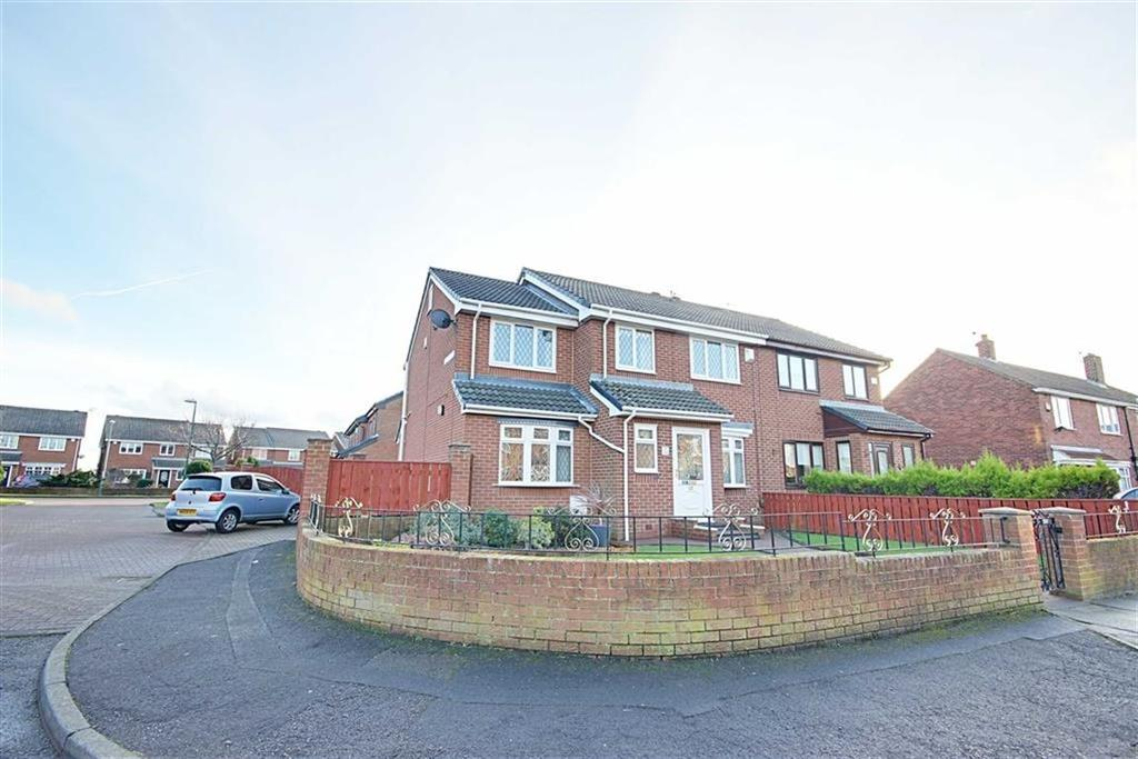 4 Bedrooms Semi Detached House for sale in Lowry Villas,Cotman Gardens, South Shields, Tyne And Wear