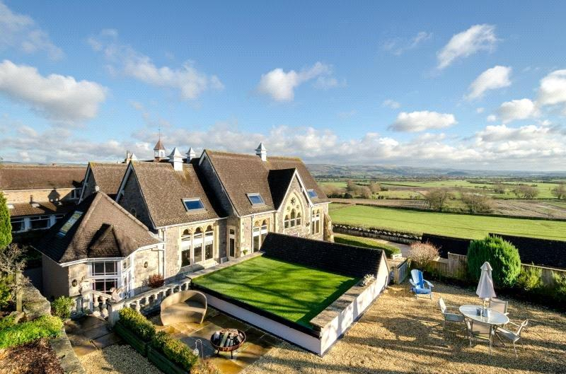 4 Bedrooms Semi Detached House for sale in The Old School House, Cheddar Road, Wedmore, North Somerset, BS28