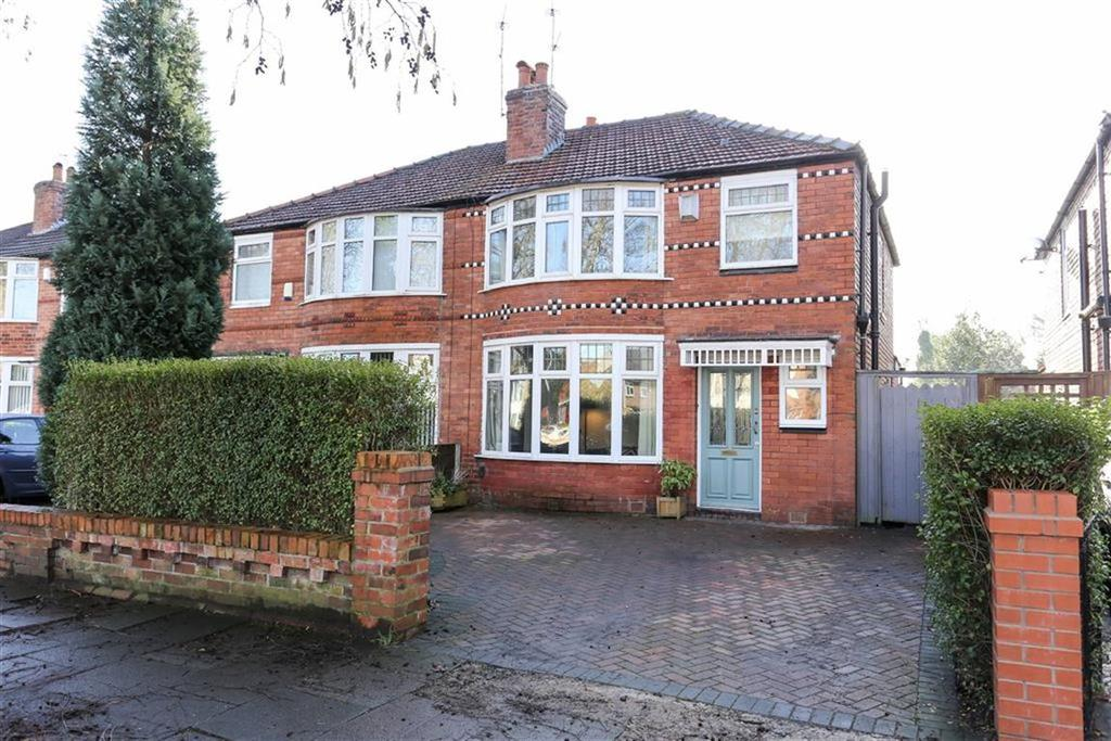 3 Bedrooms Semi Detached House for sale in Parsonage Road, Withington, Manchester