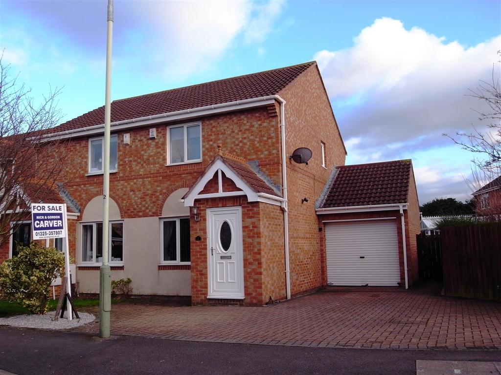 2 Bedrooms Semi Detached House for sale in Hensfield Grove, Darlington