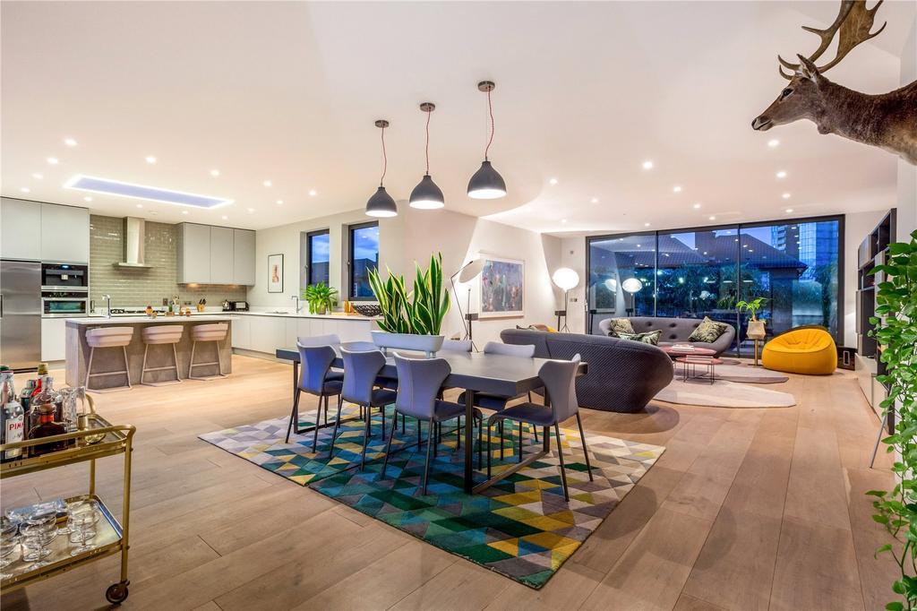 4 Bedrooms Penthouse Flat for sale in Calvin Street, Spitalfields, E1