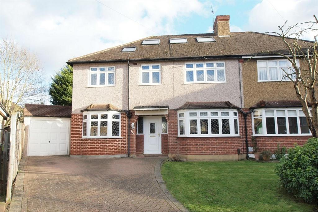 5 Bedrooms Semi Detached House for sale in Hayes Chase, West Wickham, Kent