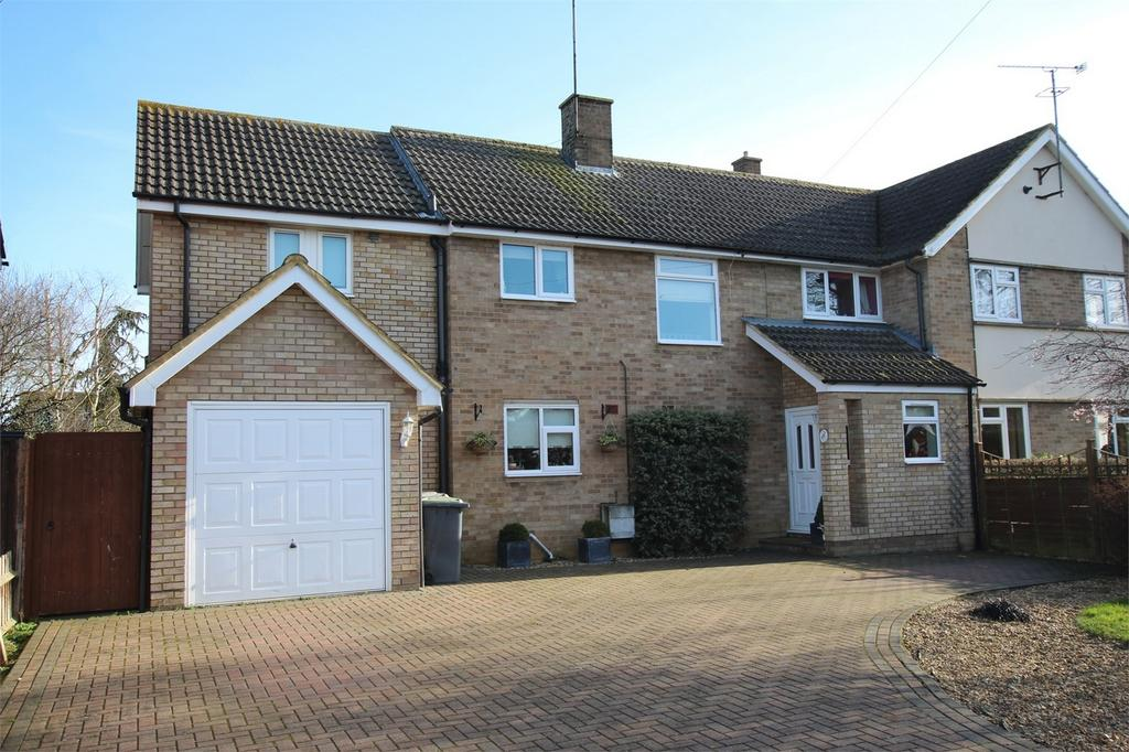 4 Bedrooms Semi Detached House for sale in Cambridge Gardens, Langford, Bedfordshire