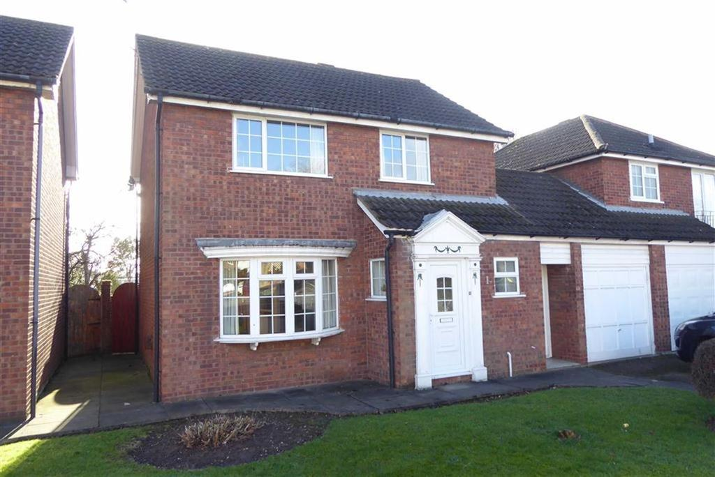 3 Bedrooms Link Detached House for sale in Wolsey Way, Syston