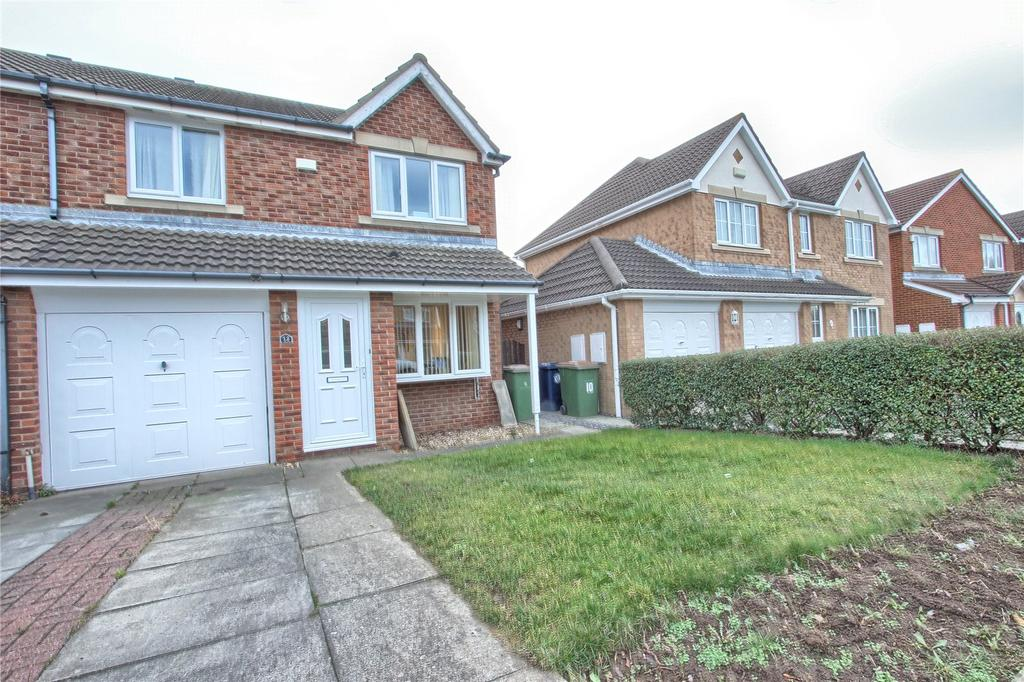3 Bedrooms Semi Detached House for sale in Salcombe Way, Redcar
