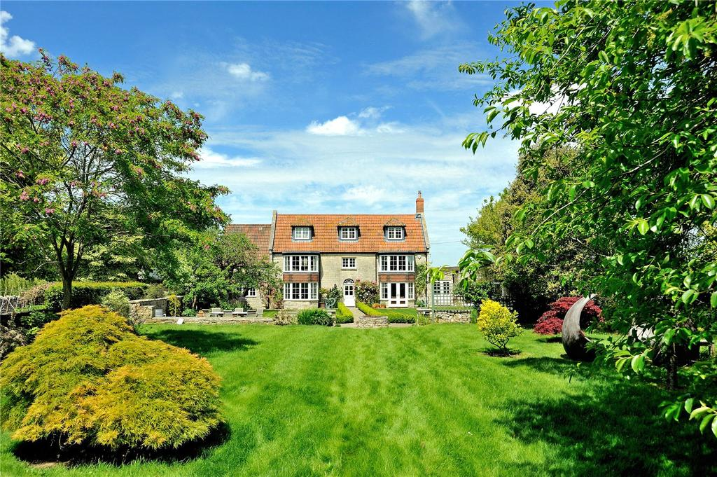 4 Bedrooms Detached House for sale in Steart Hill, West Camel, Yeovil, Somerset