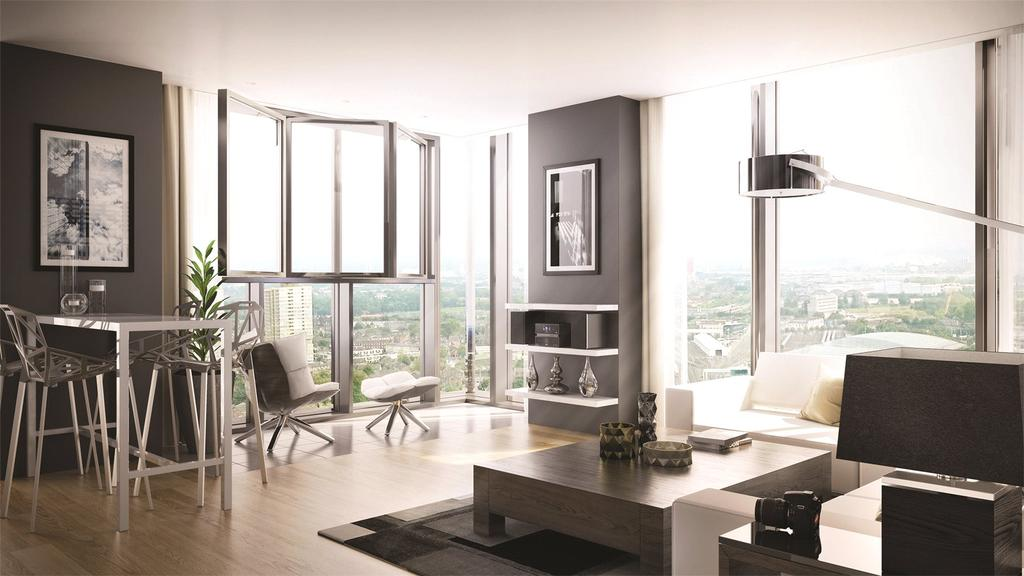 2 Bedrooms Penthouse Flat for sale in Stratosphere, Station Street, London, E15