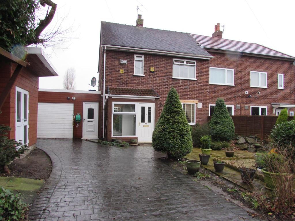 2 Bedrooms End Of Terrace House for sale in Lownorth Road, Woodhouse Park, Manchester, M22