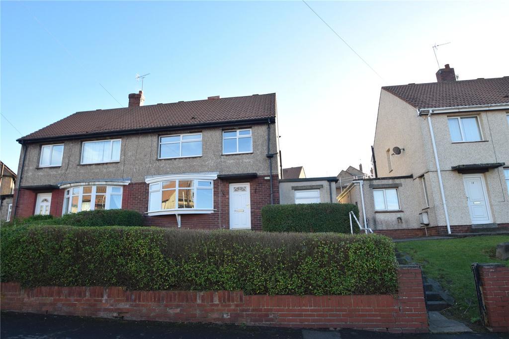 3 Bedrooms Semi Detached House for sale in Windermere Road, Westlea, Seaham, Co Durham, SR7
