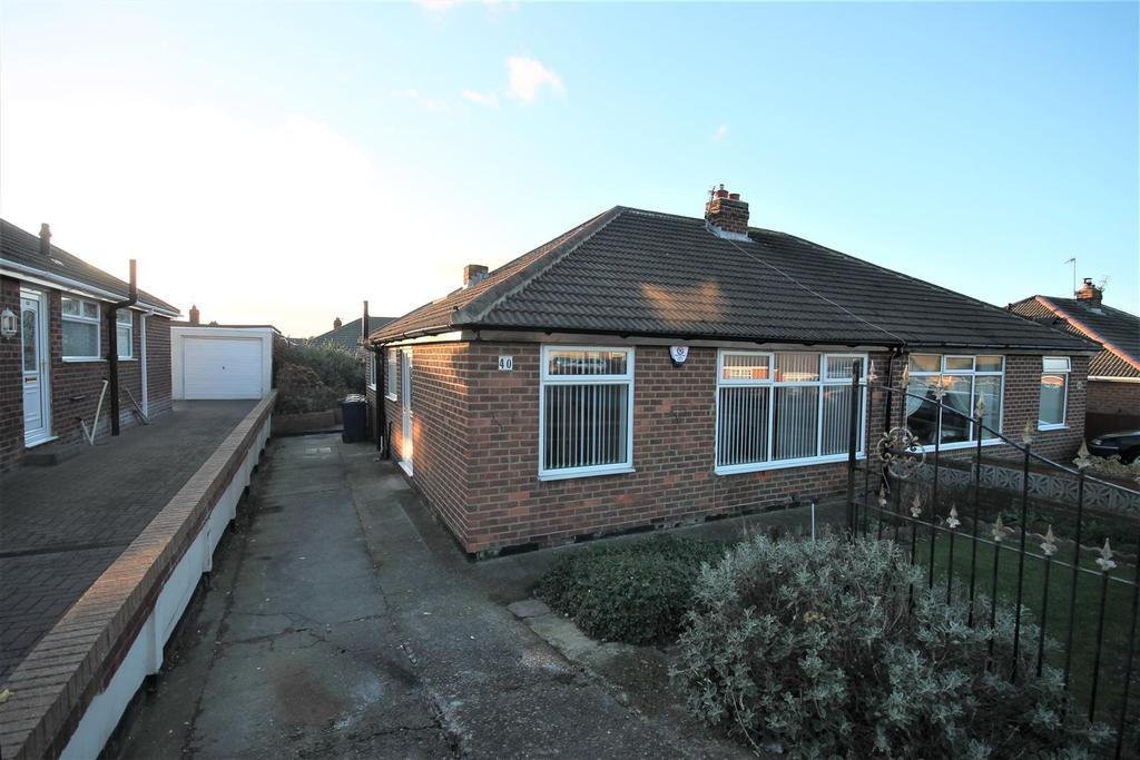 2 Bedrooms Semi Detached Bungalow for sale in Whitby Avenue, Middlesbrough