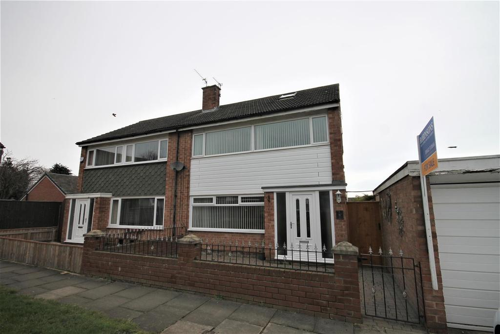 3 Bedrooms Semi Detached House for sale in Newby Close, Middlesbrough