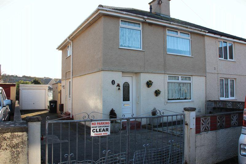 3 Bedrooms Semi Detached House for sale in Maes Y Brenin, Holyhead