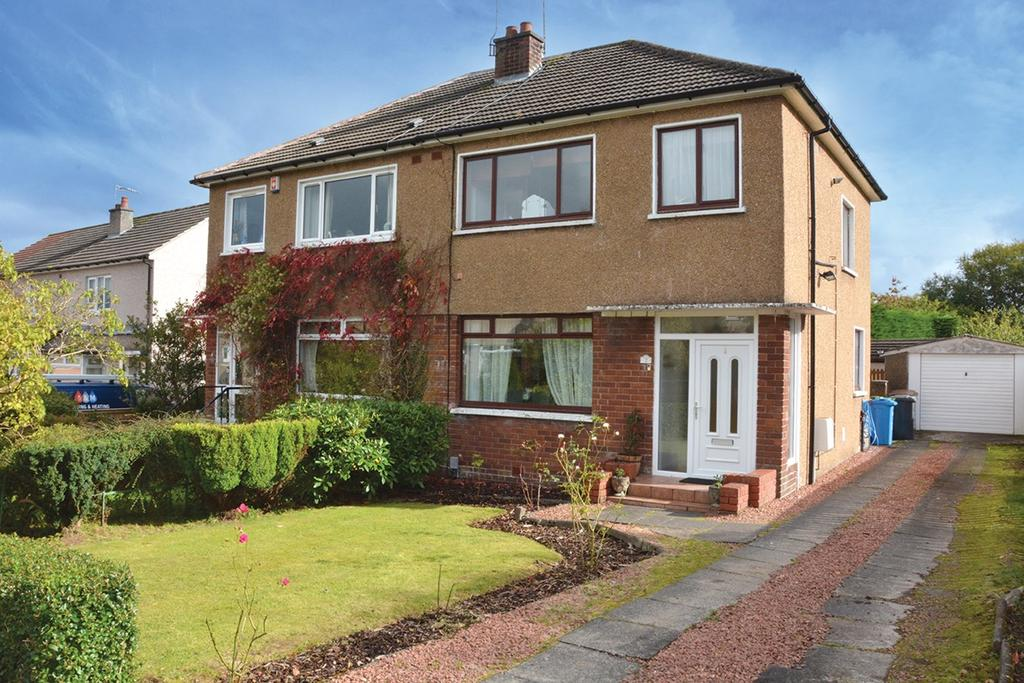 3 Bedrooms Semi Detached House for sale in Gordon Crescent, Newton Mearns, Glasgow, G77