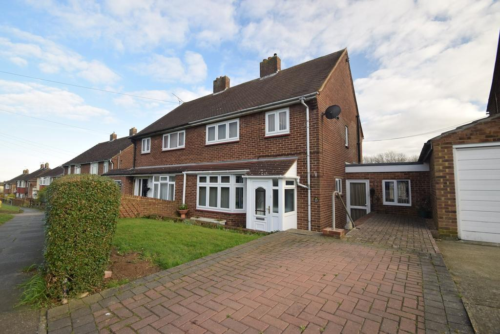3 Bedrooms Semi Detached House for sale in Tobruk Way, Chatham, ME5