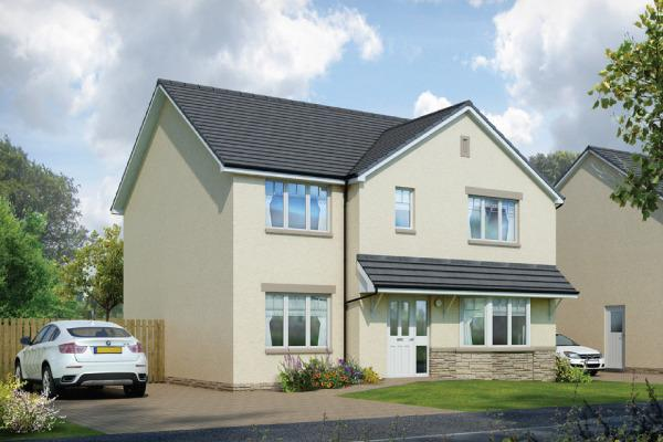 4 Bedrooms Detached House for sale in Plot 26 Cairngorm, Oaktree Gardens, Alloa Park, Alloa, Stirling, FK10 1QY