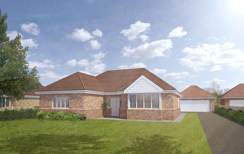 3 Bedrooms Detached Bungalow for sale in Plot 2a, The Larch, Tower Drive, Woodhall Spa