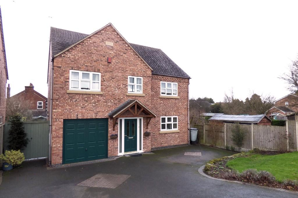 5 Bedrooms Detached House for sale in Meadow View, Rolleston-on-Dove