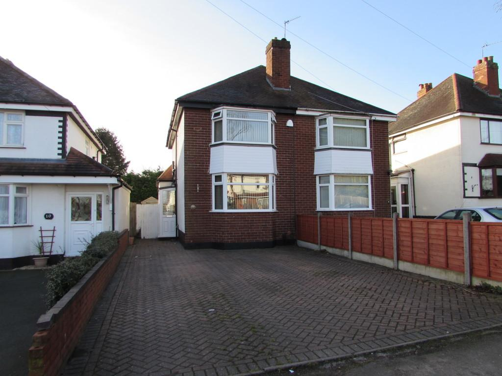 2 Bedrooms Semi Detached House for sale in Pierce Avenue, Solihull